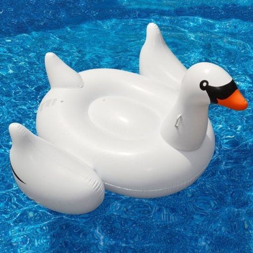 Cisne Gigante Inflable para Piscinas