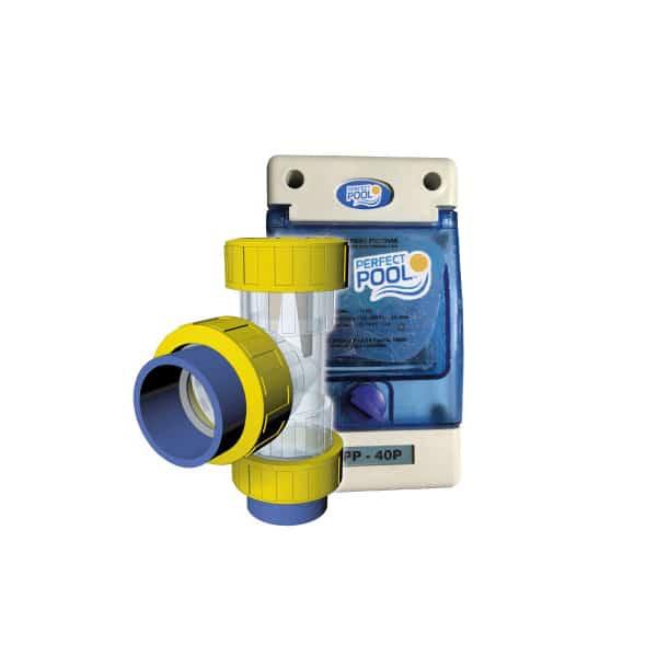 Ionizador in line para piscinas de hasta 70 m3 dunner for Ionizador para piscinas