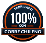 Sello Cobre Chileno Ionizador
